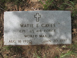 Willard E. Watie Caves