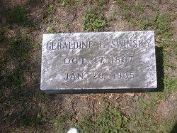Geraldine L. Gerry <i>Lane</i> Swinsky