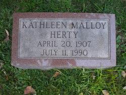 Kathleen <i>Molloy</i> Herty