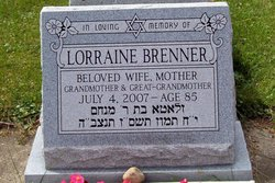 Lorraine <i>Margolies</i> Brenner