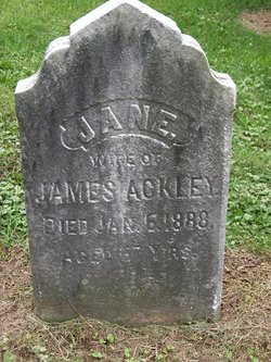 Jane <i>Curtis</i> Ackley