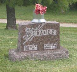 Mathilda Margaret <i>Wick</i> Bauer