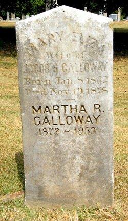 Mary Eliza <i>Tucker</i> Galloway
