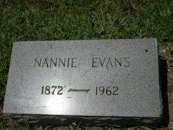Nancy Nannie <i>Robinson</i> Evans