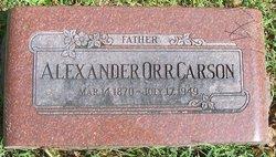 Alexander Orr Carson