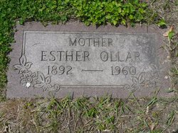 Esther (Eszter) <i>Lajos</i> Ollar