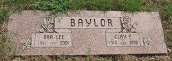 Ora Lee <i>Tibbs</i> Baylor