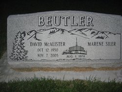 David McAlister Beutler
