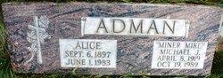 Alice Coopere <i>Anderson</i> Adman