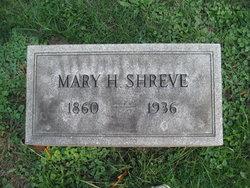 Mary <i>Hill</i> Shreve