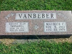 Marjorie Ellen <i>Tannahill</i> VanBeber