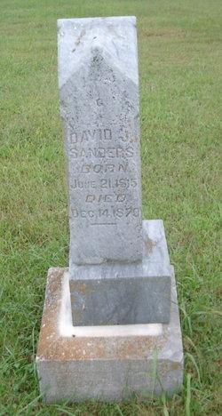 David James Sanders