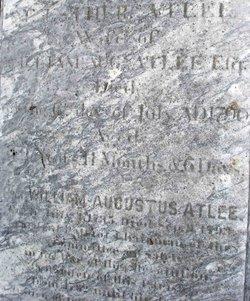 Esther Bowes <i>Sayre</i> Atlee