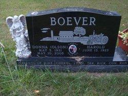 Donna Mae <i>Olson</i> Boever