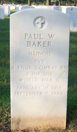 Paul W Baker