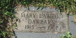 Mary <i>Lawton</i> Dawbarn