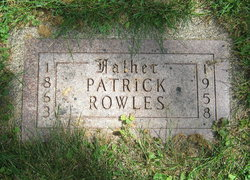 Patrick Rowles