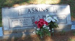 John Wilkins Askins