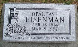 Opal Faye <i>Jenkins</i> Eisenman
