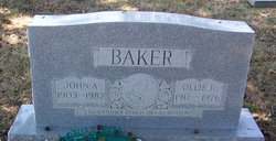 Ollie <i>Byrum</i> Baker
