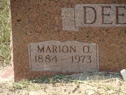 Marion Oliver Deerman