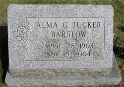 Alma G. <i>Tucker</i> Barstow