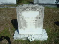 Rev John James Caines