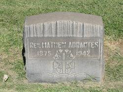 Rev Mathew Abrantes