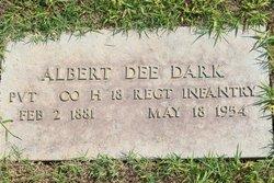 Albert Dee Dark