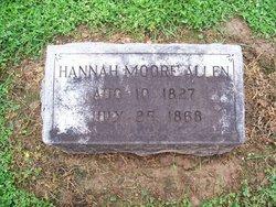 Hannah Moore <i>Hughes</i> Allen