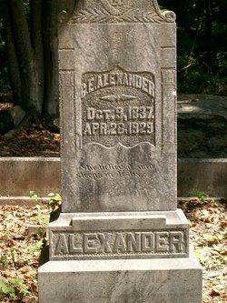 Georgia E <i>Kennedy</i> Alexander
