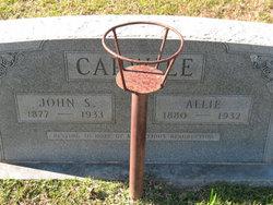 Allie <i>McCann</i> Carwile