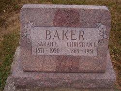 Sarah E. <i>Cleveland</i> Baker