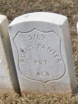 Pvt Rufus Panter