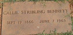 Callie Ruth <i>Stribling</i> Bennett