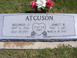 Mildred J Atcuson