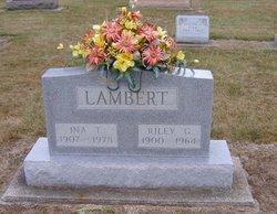 Ina T <i>Rinehart</i> Lambert