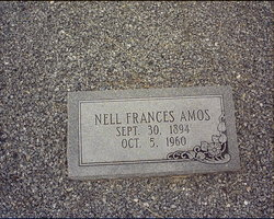 Nell Frances <i>Riley</i> Amos