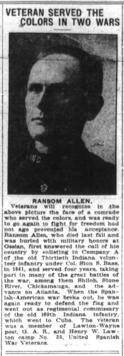 Capt Ransom Allen