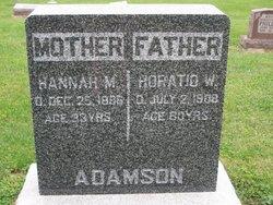 Hannah Martha <i>Hughes</i> Adamson