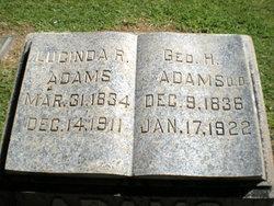 Rev George H. Adams