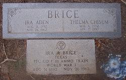 Olive Thelma <i>Chisum</i> Brice