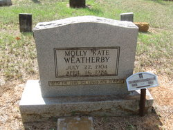 Molly Kate <i>Hooper</i> Weatherby