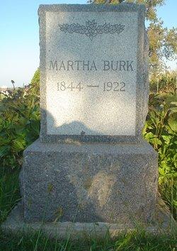 Martha E <i>Rerick</i> Burk