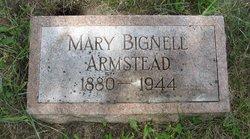 Mary <i>Bignell</i> Armstead