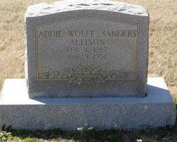 Addie Wolfe <i>Willingham</i> Sanders Allison
