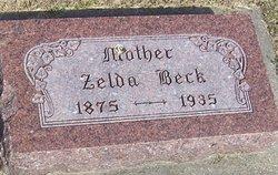 Zelda S <i>Bobb</i> Beck
