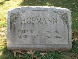 Annie Jane Hofmann