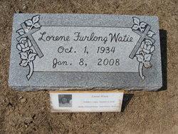 Lorene <i>Furlong</i> Watie