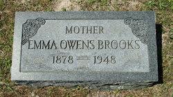 Emma <i>Owens</i> Brooks